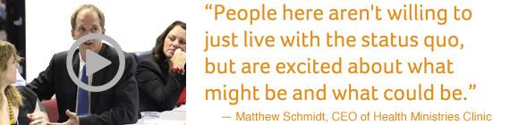 Click to play video of Matthew Schmidt talking about Integrated Care