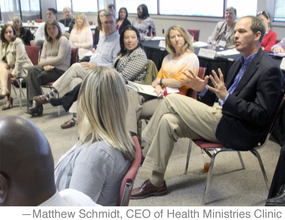 Matthew Schmidt, CEO of Health Ministries Clinic